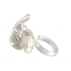 Inel Silicone Rabbit Cock Ring