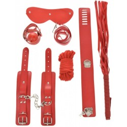 Set BDSM 7 Piese Rosu Guilty Toys